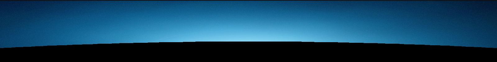 A dark blue header image